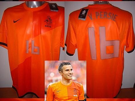 Nike Holland Netherlands Robin Van Persie Camicia Maglia da