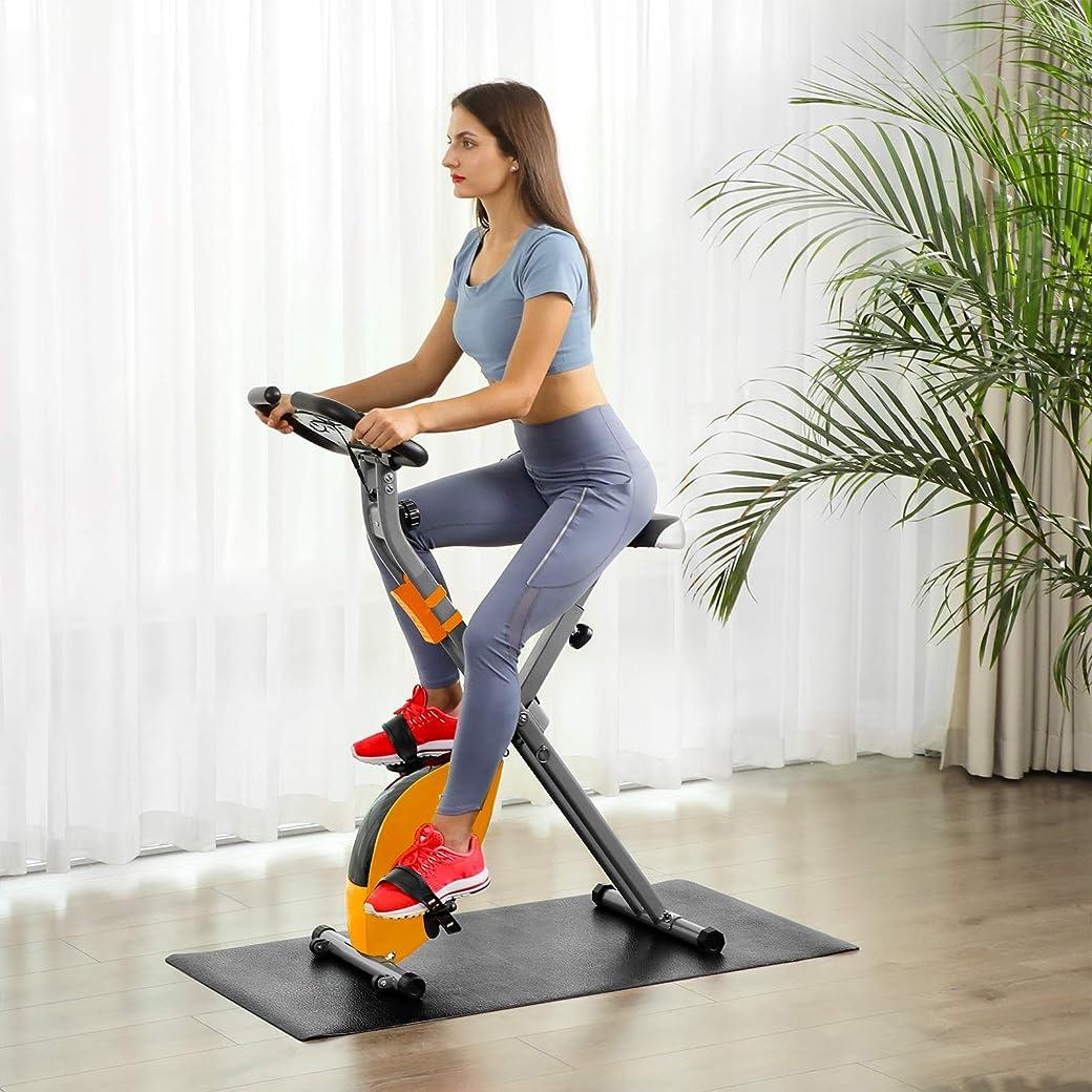 SONGMICS Bicicleta EstáticaPlegable Indoor