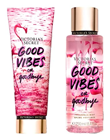 15fcfd707b6f8 Amazon.com : Victorias Secret Good Vibes Or Goodbye Fragrance Body ...