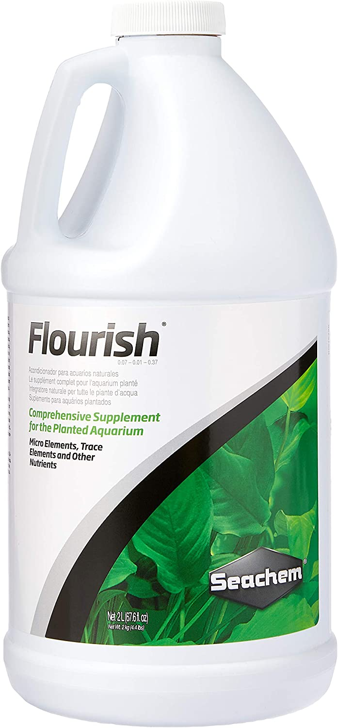 Seachem Flourish Freshwater Plant Supplement - Aquarium Element and Nutrient Blend 2L / 67.6 oz