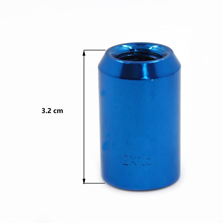 avec Cl/é Hexagonale Mod/èle F320BBK-FR Pas de Filetage M12 X 1.50mm MODAUTO Jeu D/écrous Ouverts pour Roue Dasperge ou Entretoises Couleur Noir 20pcs