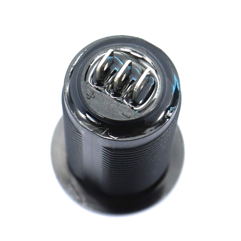 Iycorish Universal Digital Anzeige Voltmeter Amperemeter Zwei Der Auto Jacht Auto ?nderung
