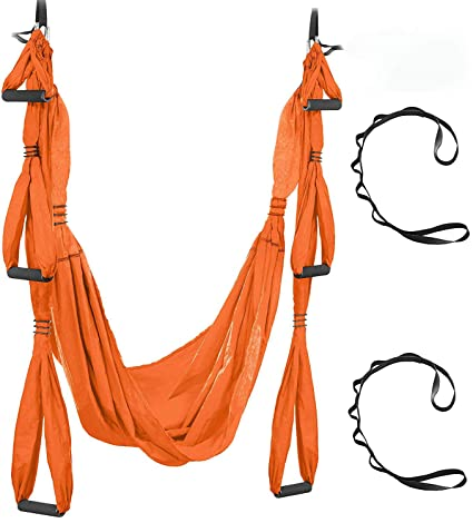 UISGM Juego de Columpios de Yoga aéreo - Kit de hamacas ...