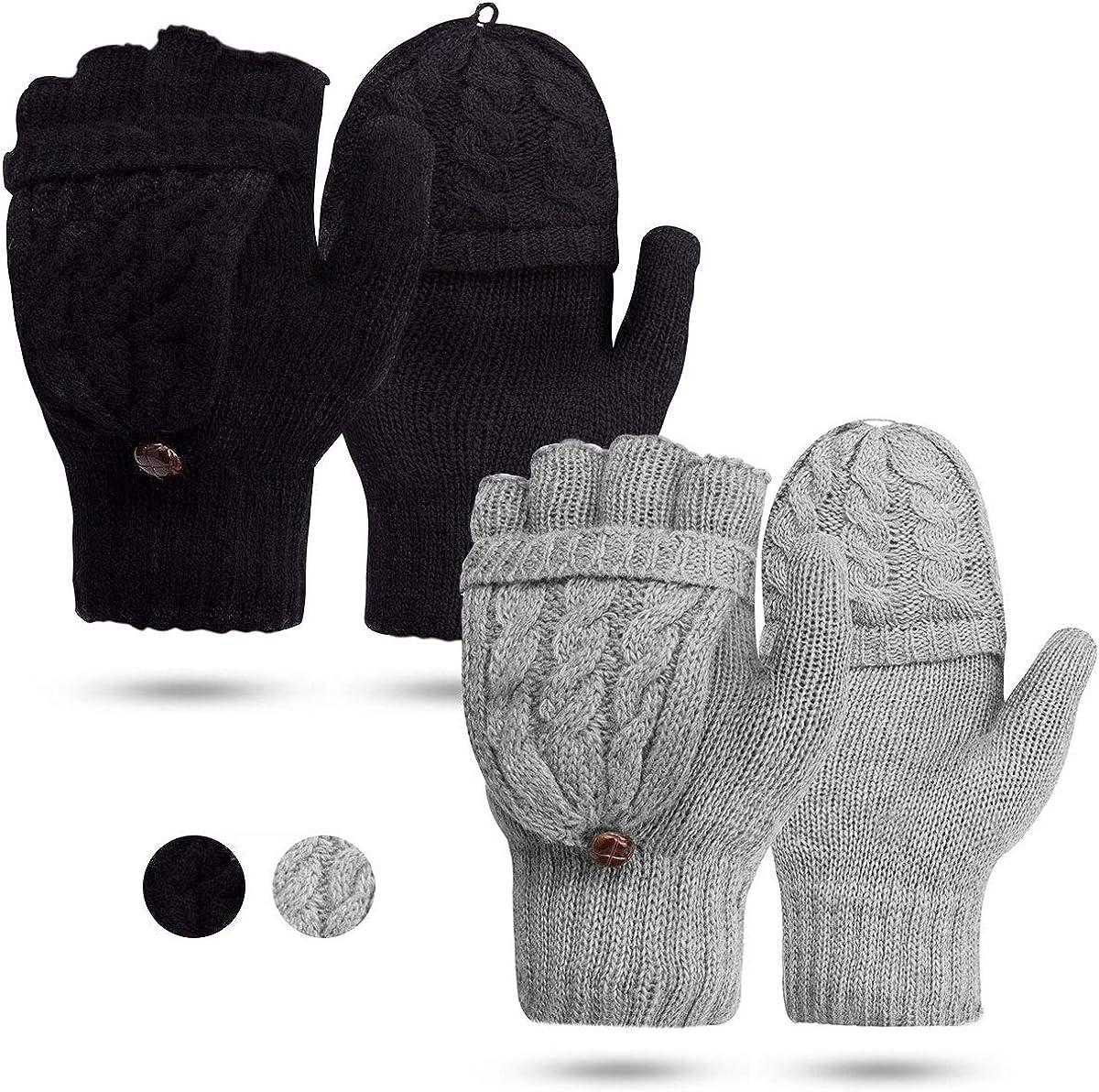 Women's Gloves Fingerless...