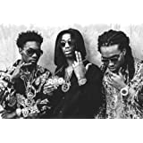 """Amazon Price History for:MIGOS - Hip hop, trap - Quavo, Offset and Takeoff - Poster 24in x 36in """"FREE 8X10 POSTER"""""""