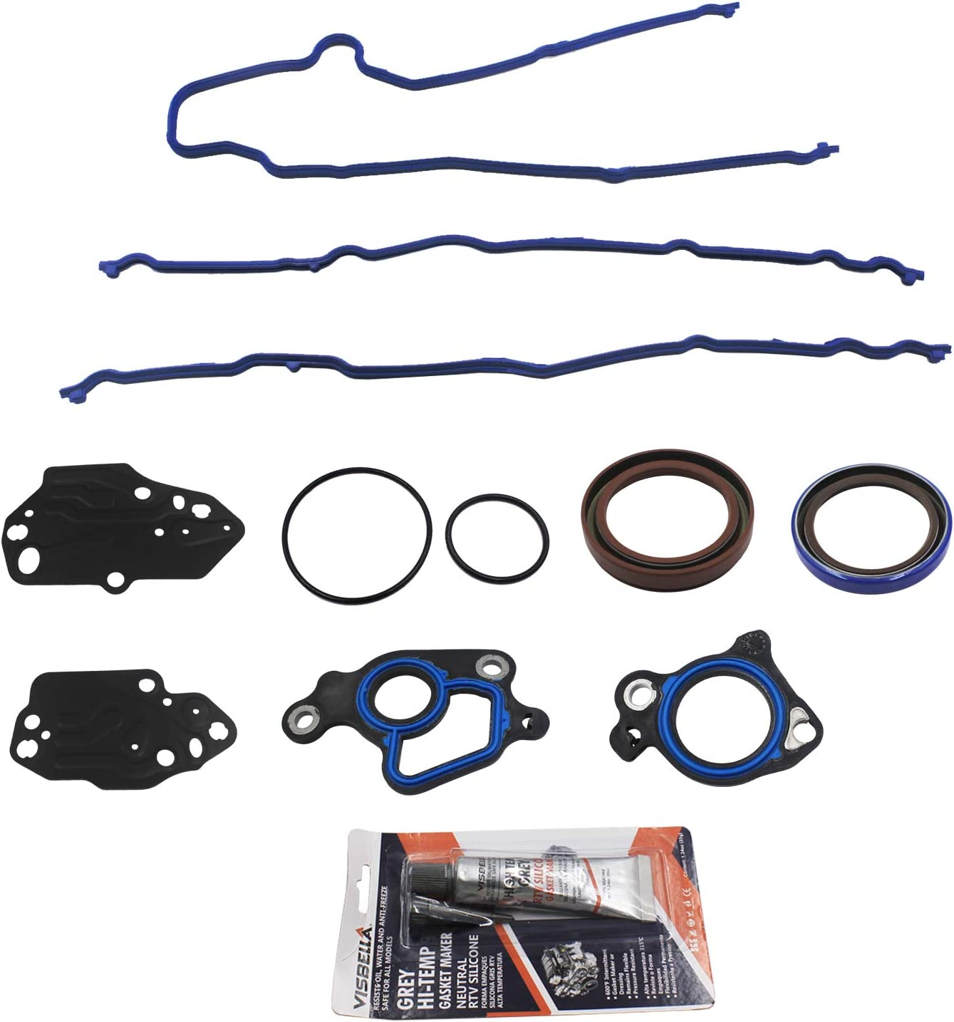 Timing Cover Gasket Set Replacement for Ford F-150 F150 F-250 F250 ...