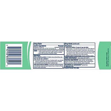 Sensodyne ProNamel - Pasta de dientes de menta (4oz ...