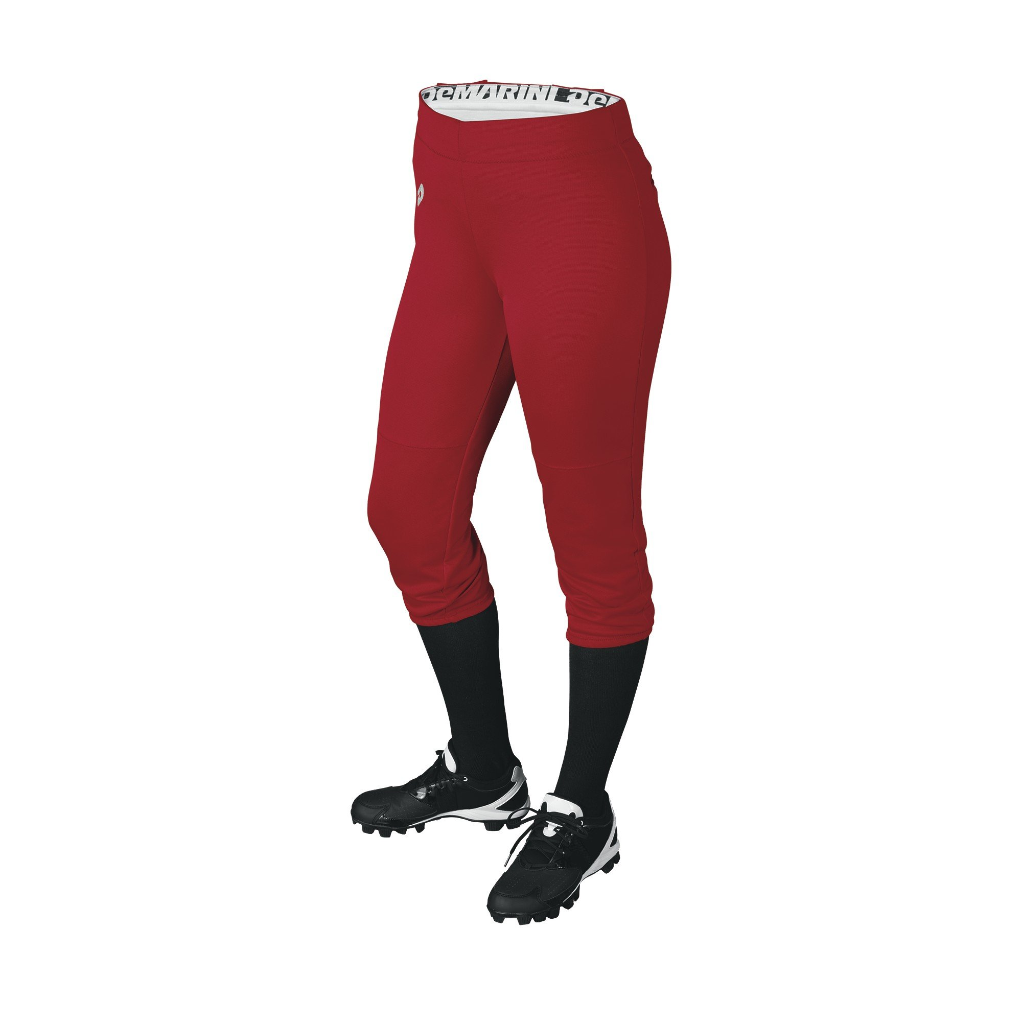 DeMarini Womens Sleek Pull Up Pant, Scarlet, Small by DeMarini (Image #1)
