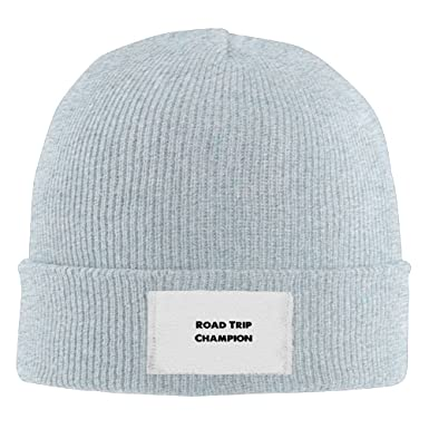 2e9a844d3ba Road Trip Champion Hot New Winter Hats Knitted Twist Cap Thick Beanie Hat  Ash at Amazon Men s Clothing store