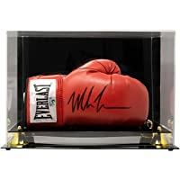 $289 » Mike Tyson Signed Right Red Everlast Boxing Glove w/Case JSA ITP