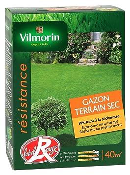 Vilmorin 4472053 Gazon Terrain Sec Boite De 1 Kg Amazon Fr Jardin