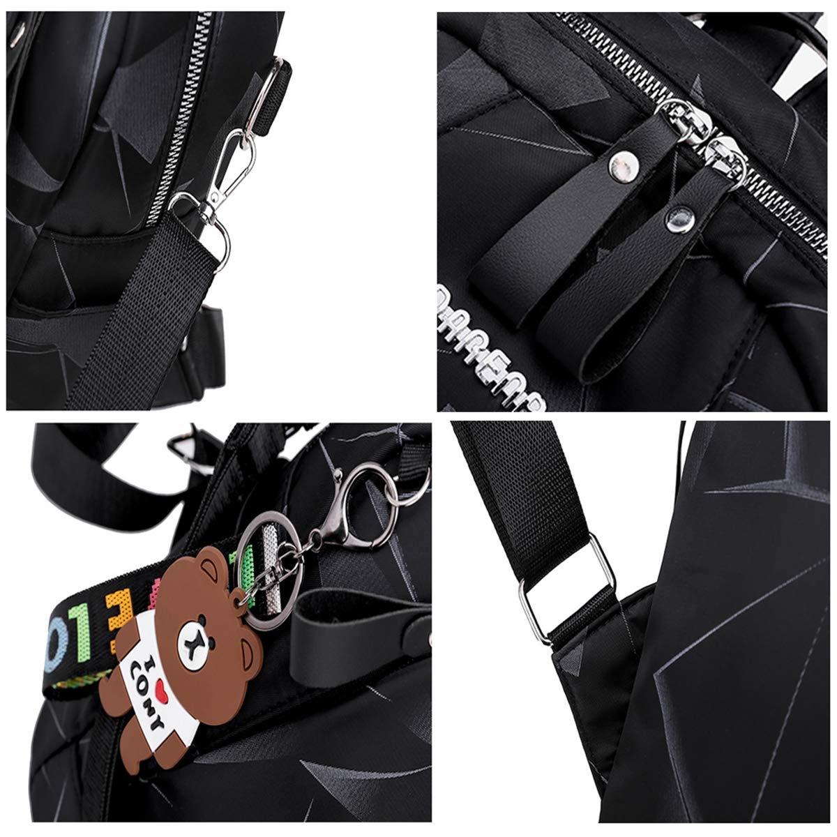 HWX Fashion Backpack Purse Designer Casual Wild Shoulder Bag Handbags Lightweight Anti-Theft Travel Daypack for Womens,A,302612CM