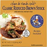 More Than Gourmet Glace De Viande Gold Reduced Brown Stock, 16-Ounce Packages