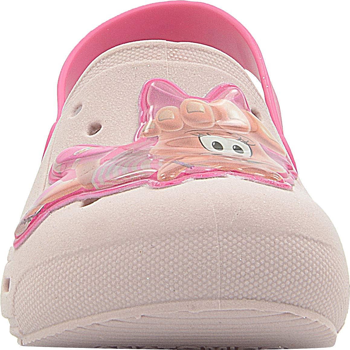 P/é com P/é Girls Clogs Classic Pink