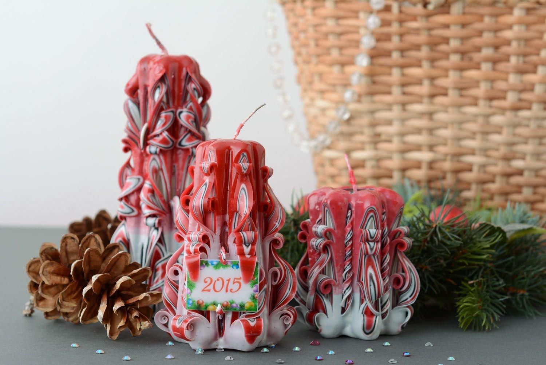 Decorative Christmas Candle