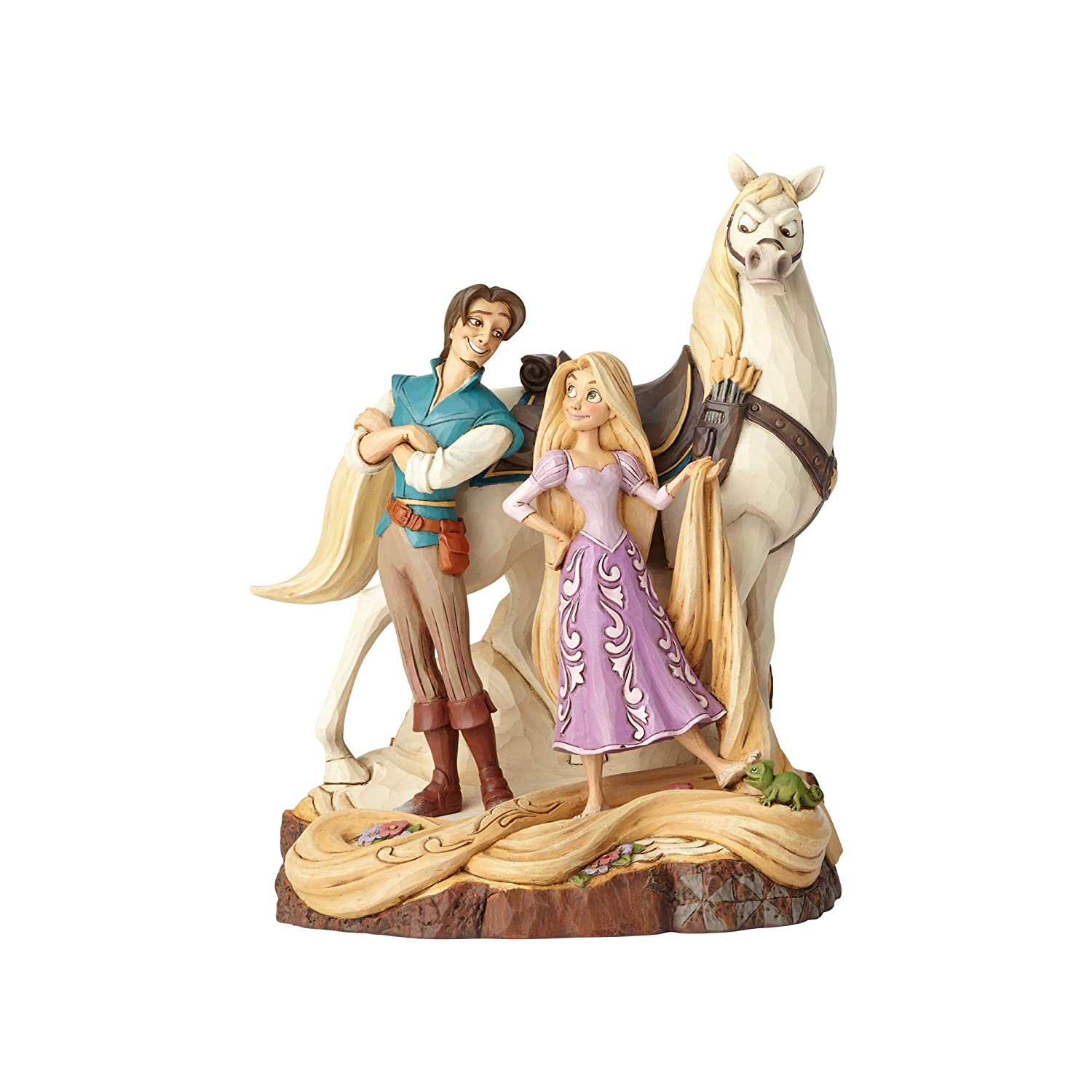 Disney Traditions Live Your Dream Tangled Figurine, Resin, Multi-Colour, 145 x 155 x 210 cm Enesco 4059736
