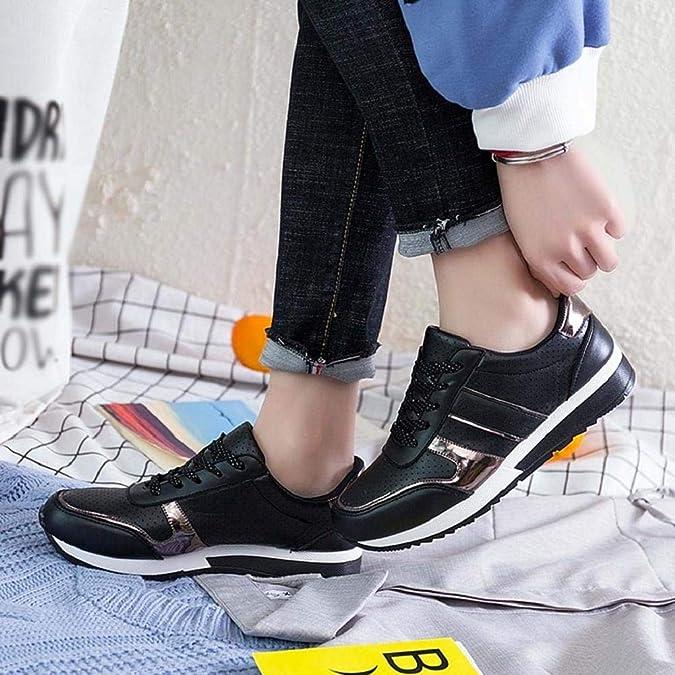 QUICKLYLY Zapatillas de Mujer Zapatos de Corriendo Calzado Casual y Deportivo Casuales De Moda De Viaje Transpirables