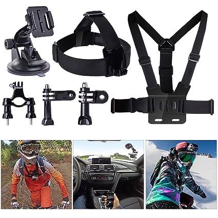 EME® - Conjunto Kit 8 en 1 manillar + ventosa + cinturón pectoral ...