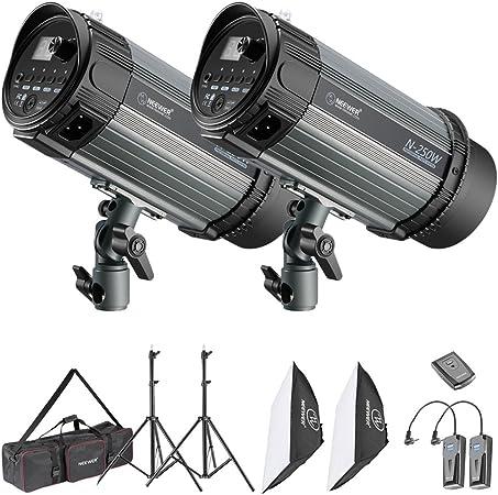 Neewer 250W Photo Studio Strobe Lighting Kit
