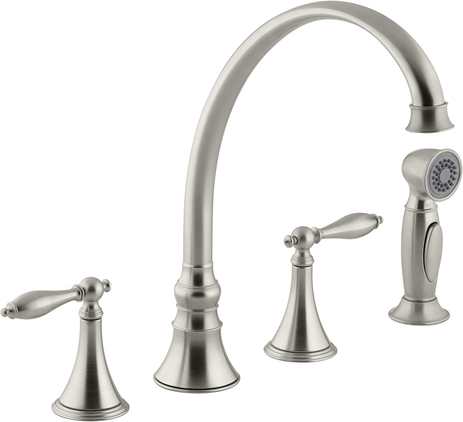 Delta Faucet Foundations Single-Handle Kitchen Sink Faucet, Chrome B1310LF