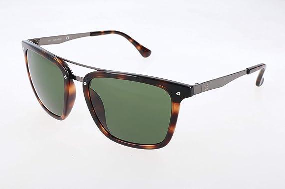 48607c34c5 Amazon.com: Calvin Klein Men's Ck1214s Square Flat Top Sunglasses ...