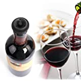Wine Vacuum Saver Set Vgreenlife - Vacuum pump to ensure highest quality seal. Includes 2 stoppers to ensure no air contamination; preserving the essence of the wine for weeks. Eco-friendly.