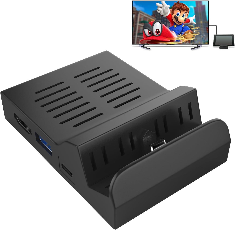 MoKo Nintendo Switch Dock,Base de Carga portátil Switch Dock ...