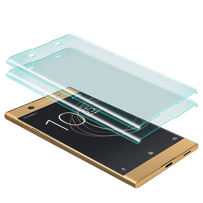 8 opinioni per Zanasta 2 Pezzi Vetro Temperato Sony Xperia XA1 Ultra Pellicola Protettiva 3D