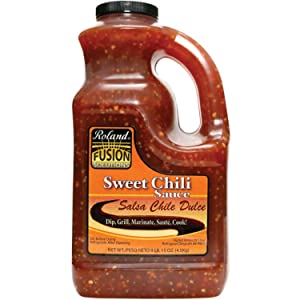 Roland Foods Fusion Solutions Sweet Chili Sauce, Specialty Imported Food, 1-Gallon Bottle