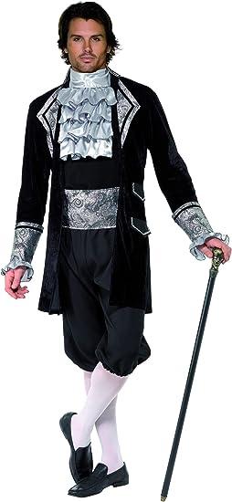 Disfraz de vampiro para hombre, ideal para Halloween M: Amazon.es ...