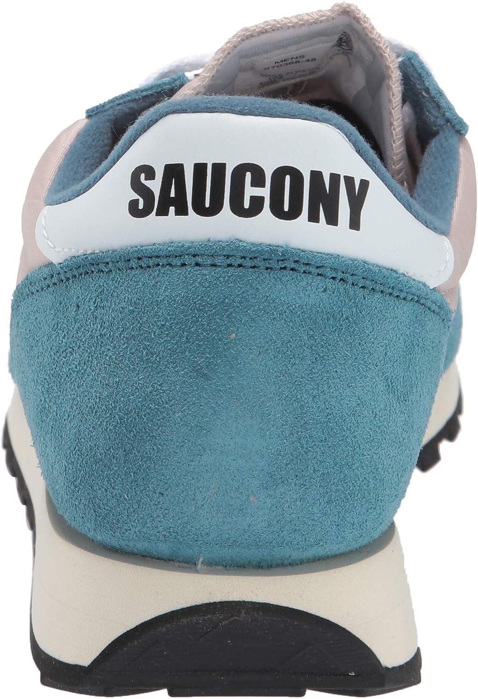 Saucony Jazz Original, Sneaker, Donna Bleu Sapin Argent