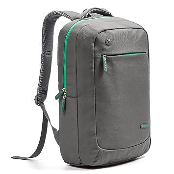 78dcb08694 Evecase 15.6 inch Laptop Backpack, Lightweight Nylon Water Resistant  Multipurpose Notebook Chromebook Macbook Ultrabook Bag
