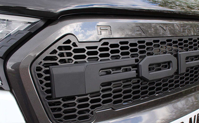 Griglia anteriore in rete stile Raptor Ranger T8 dal 2019 in poi.