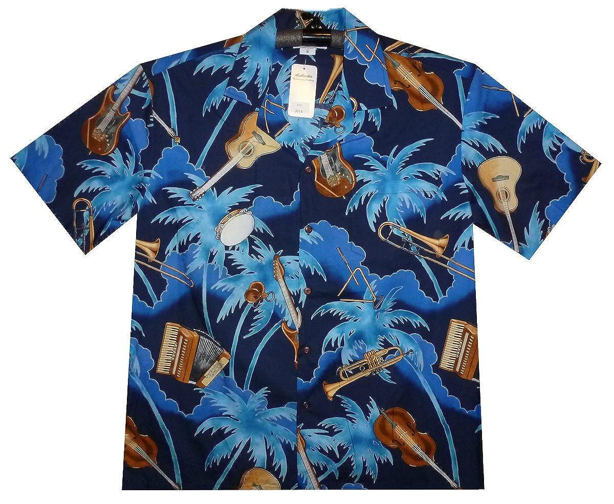 d03332d51 Lapa PLA Original Hawaiian Shirt Instruments, Blue, XL: Amazon.co.uk:  Clothing