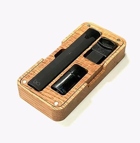 Amazon com : BO Vape Pod Mod wood travel case stand by Jwraps