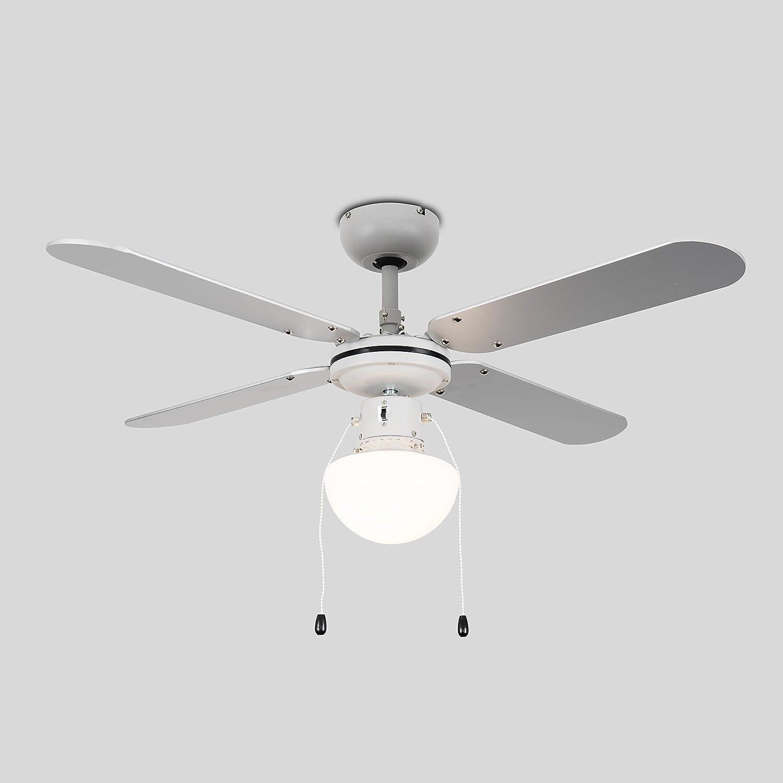 "MiniSun Modern 30/"" Ceiling Fan Reversible Directional Motor Speed Setting Cord"