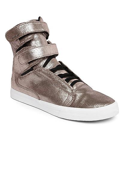 e5c6fb5ec791 Supra Men Rose Gold-Toned Shimmery Leather Sneakers (10UK)  Buy ...