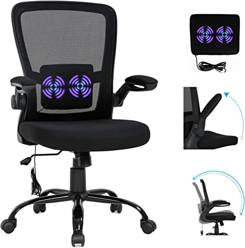 Home Office Chair Ergonomic Desk Chair Mesh Computer Desk Chair Executive Massage Chair Swivel Rolling Task Chair