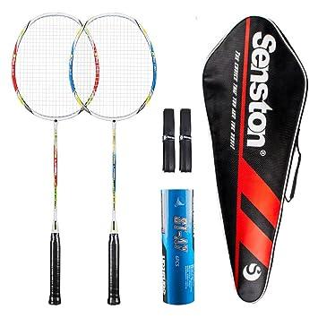Amazon.com: Senston – Juego de 2 raquetas de bádminton para ...