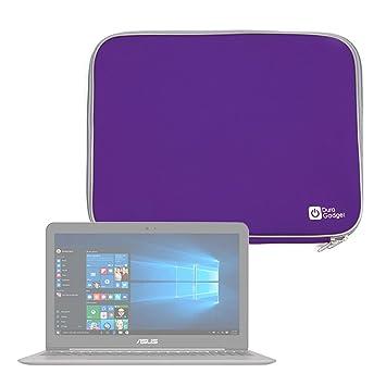 DURAGADGET Funda De Neopreno Morada para Portátil ASUS ZenBook UX510UX-DM163T, UX510UX-DM165T / HP 15-ay501nl, HP 15-BA097NL, HP 250 G6, HP G5 255: ...