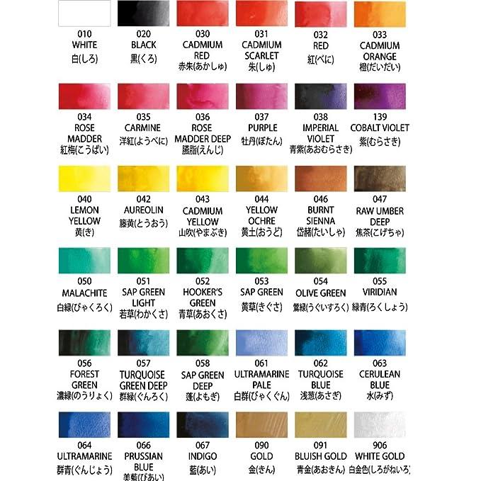b79f559a77068 Kuretake 36 Color Set MC20 36V Picture Letter Face Color Unleashed (Japan  Import)  Amazon.es  Juguetes y juegos