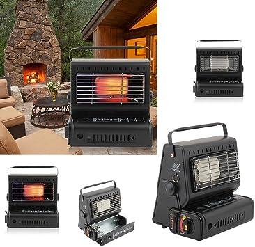 iCoco Gas Calefacción Ceramic – Calefactor de gas portable gas Burner Heat Ring For Outdoor tenting and Caravan camping