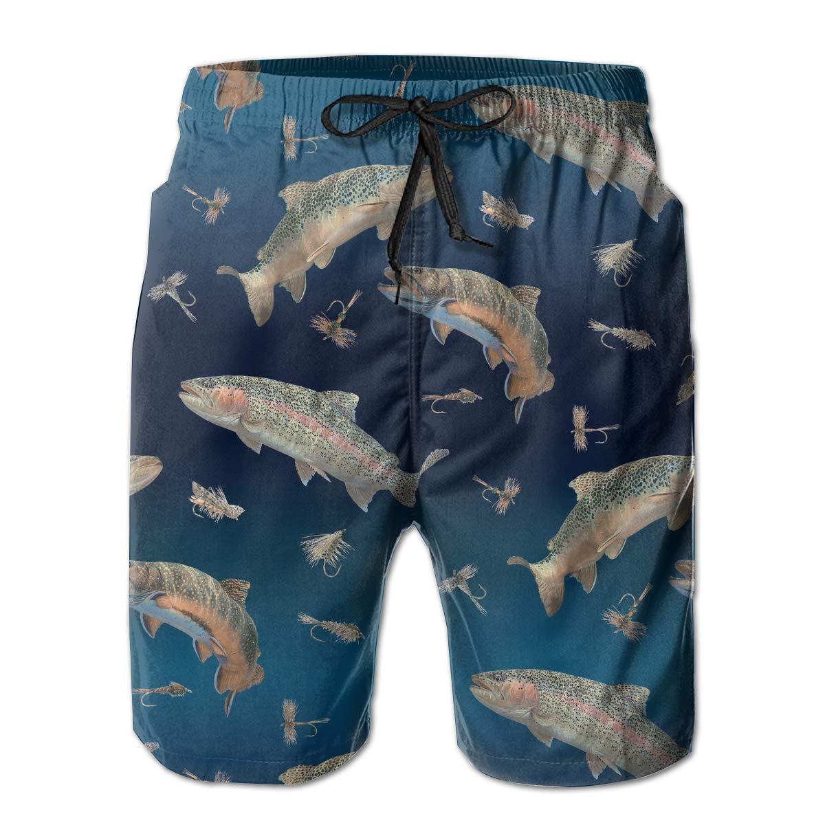 YongColer Mens Big /& Tall Swim Trunks Board Shorts Basic Beachwear with Pockets