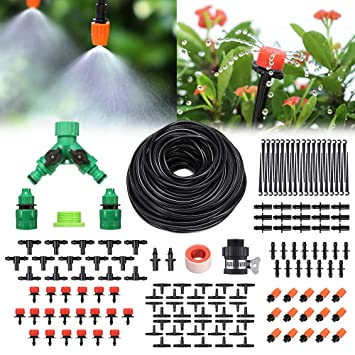 Attrayant Pathonor Neue DIY Bewässerungssystem 40m, Bewässerung Kit Micro Drip System  Garten Automatische Bewässerung