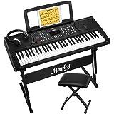 Moukey MEK-200 Electric Keyboard Portable Piano...