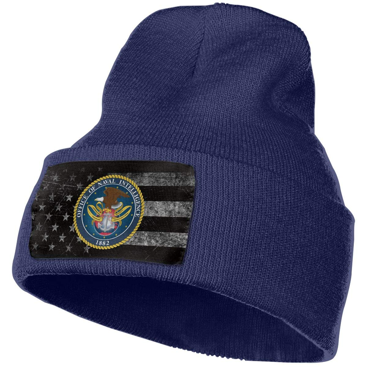 FORDSAN CP US Army Brigadier General Mens Beanie Cap Skull Cap Winter Warm Knitting Hats.