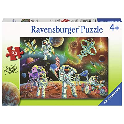Ravensburger 08678, Moon Landing 35 Piece Puzzle for Kids, Every Piece is Unique, Pieces Fit Together Perfectly: Toys & Games