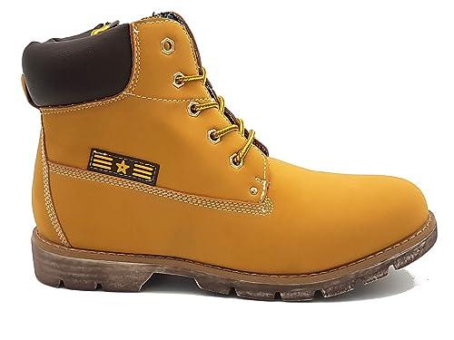 Shoes scarpe scarponcino collo alto stivaletto bimbo bambino per Inverno  Autunno sportive casual comode con lacci 8e607b3aa83