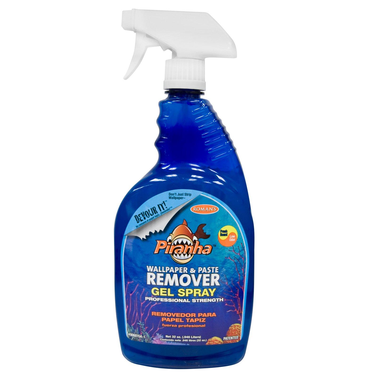 Piranha 206015 32 oz. Gel Spray Wallpaper and Paste Remover