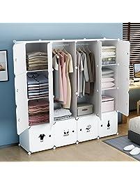 KOUSI Portable Wardrobe Clothes Closet RBYG A